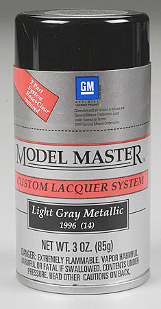 Testors Model Master Spray Light Gray Metallic 3 oz (TES28126)