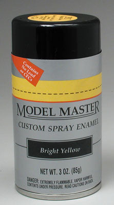 Testors Model Master Spray Bright Yellow 3 oz (TES2917)