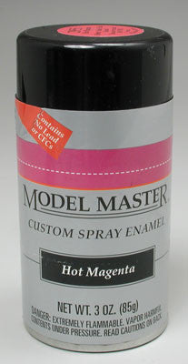 Testors Model Master Spray Hot Magenta 3 oz (TES2955)