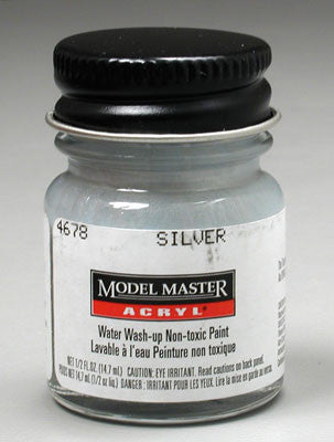 Testors Model Master Silver GP00835 1/2 oz( TES4678)