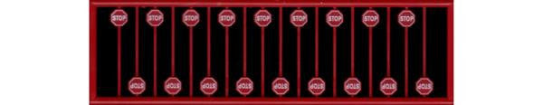 TICHY RED STOP SIGN (TIC2612)