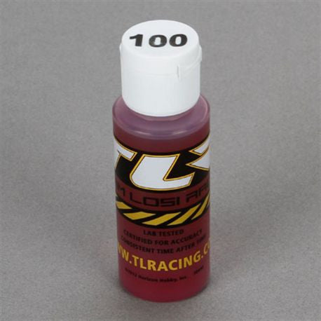 Team Losi Racing Silicone Shock Oil 100wt 2oz  (TLR74018)