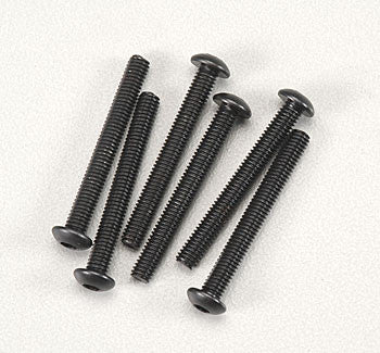 Traxxas Button Head Machine Screw 3x25mm Revo (6) (TRA2581)