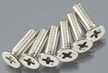 Traxxas Countersunk Screw 4x15mm (6) (TRA3167)