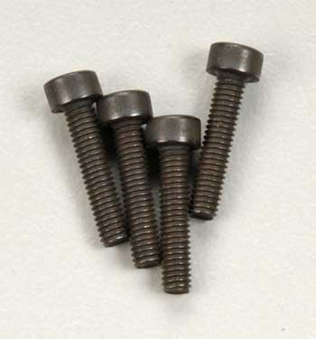 Traxxas Cap Head Screws 2.5x12mm (4) (TRA3236)