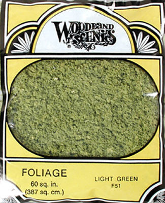 Woodland Scenics Foliage Light Green (WOOF51)