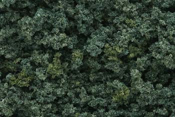 Woodland Scenics Underbrush Clump Foliage Dark Green  (WOOFC137)