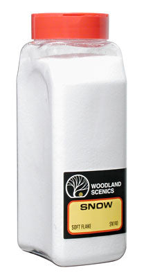 Woodland Scenics Soft Flake Snow (WOOSN140)