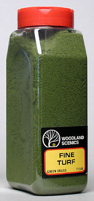 WOODLAND SCENICS TURF FINE GREEN GRASS 32 (WOOT1345)