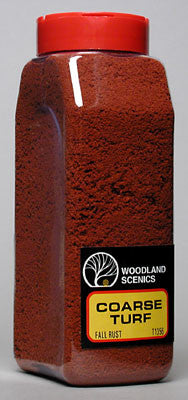 WOODLAND SCENICS TURF COARSE FALL RUST 32 (WOOT1356)