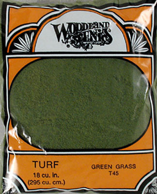 Woodland Scenics Turf Fine Green Grass (WOOT45)