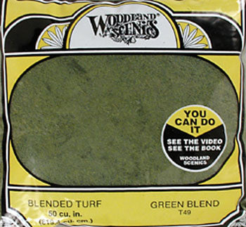 Woodland Scenics TURF FINE BLENDED GREEN 30 (WOOT49)