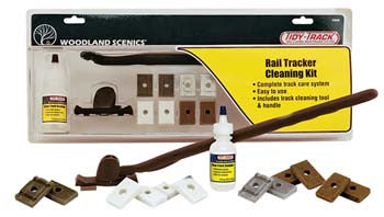 Woodland Scenics Tidy Track Rail Tracker Cleaning Kit (WOOTT4550)