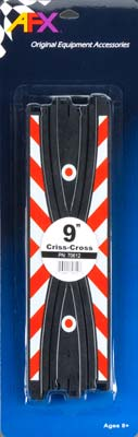"AFX 9"" Criss Cross HO Scale Slot Car Track (2)   (AFX70612)"