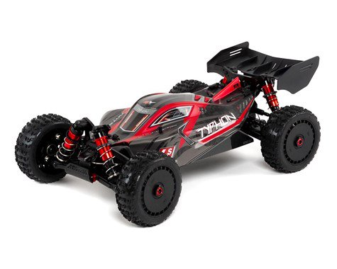 Arrma Typhon 6S BLX Brushless RTR 1/8 4WD Buggy (Red/Black) (2019 V4)   (ARA106046)