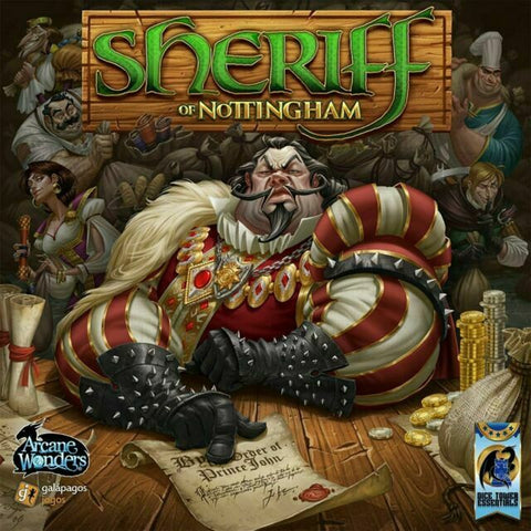 Sheriff of Nottingham Board Game (AWGDTE01SN)