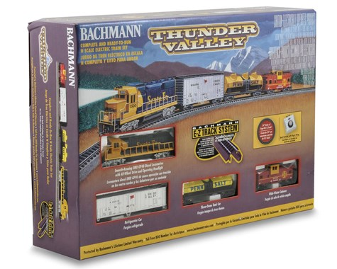 Bachmann N-Scale Thunder Valley Train Set (Santa Fe)   (BAC24013)
