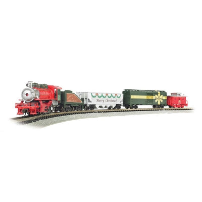 Bachmann N Merry Christmas Express Trai  (BAC24027)