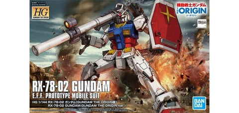 Bandai 1/144 HO Gundam The Origin Series RX78-02 Gundam  (BAN5058929)