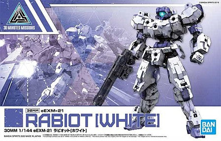 Bandai 1/144 30 Minute Missions (30MM) Series- #023 eEXM21 Rabiot White (Snap)  (BAN5059531)