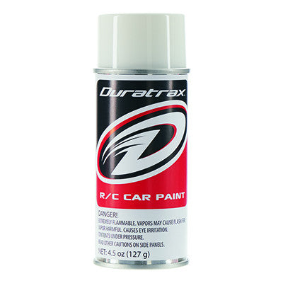 Duratrax Polycarb Spray Base Backing Cover Coat 4.5 oz (DTXPC290)