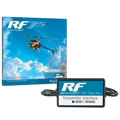 Great Planes RealFlight 7.5 w/Wired Interface (GPMZ4525)