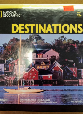National Geographic Destination Puzzle   (HCAY1039