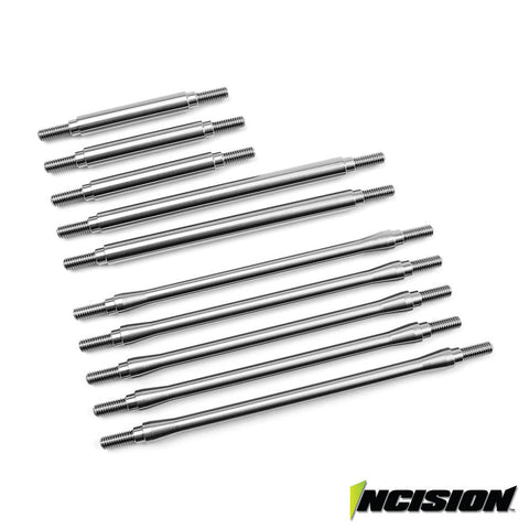 Incision TRX-4 Stainless Steel 10pc Link Kit - 12.3in Wheelbase  (IRC00201)