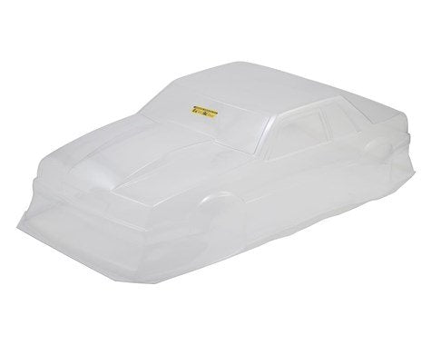 JConcepts 1991 Ford Mustang Fox Body Street Eliminator Drag Racing Body (Clear)  (JCO0362)
