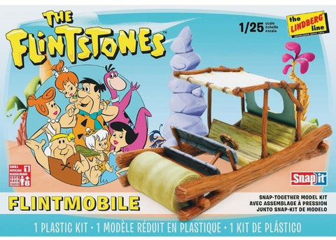 Lindberg 1/25 Flintstones Car SNAP Kit (LNDHL604)