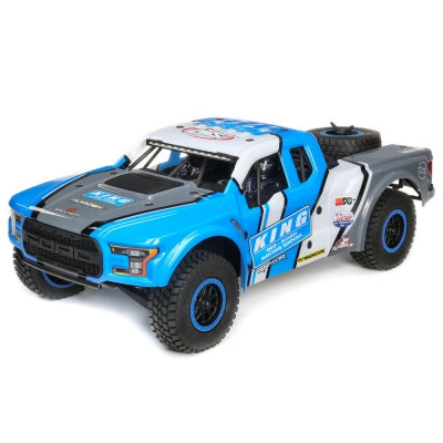 Losi 1/10 King Shocks Ford Raptor Baja Rey 4WD DT RTR  (LOS03020T1)