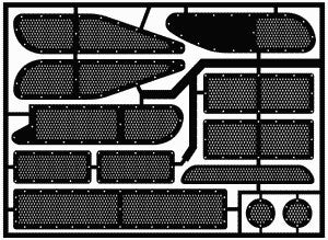 Model Car Garage 1/24-1/25 1989-95 Thunderbird Stock Car Photo Etch Duct Grille  (MCG-2024)
