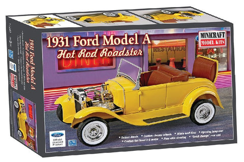 1/16 1931 Ford Model A Hot Rod Roadster (MMI11240)