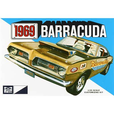 MPC 1/25 1969 Plymouth Barracuda  (MPC832)