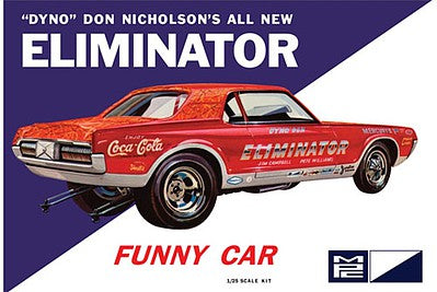 MPC 1/25 Dyno Don Cougar Eliminator Funny Car  (MPC889)