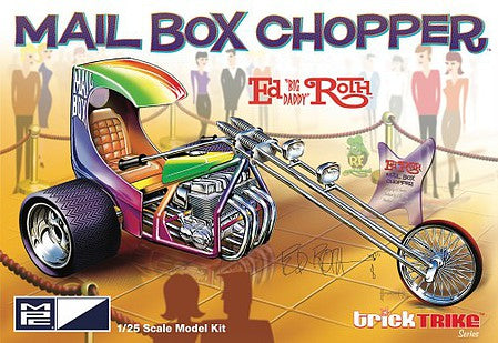 MPC 1/25 Ed Roth's Mail Box Clipper Trick Trike Series  (MPC892)