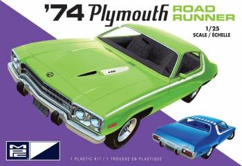 MPC 1/25 1974 Plymouth Road Runner 2T  (MPC920)