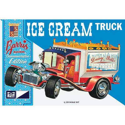 MPC 1/25 Ice Cream Truck G Barris Commemorative Edition (MPC857/2)