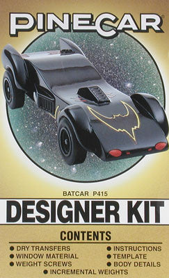 PineCar Designer Kit Batcar (PINP415)