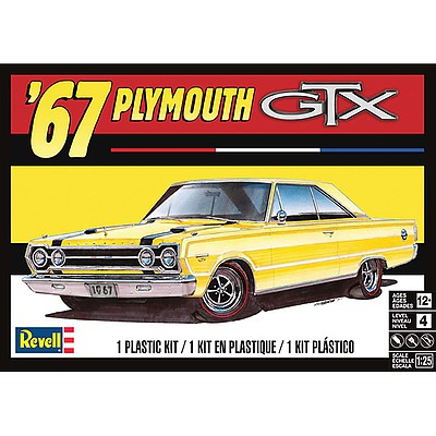 Revell 1967 Plymouth   (RMX854481)