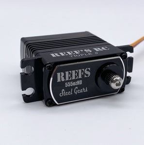 555HD V2 High Torque Digital High Voltage Coreless Servo 0.17/555 @ 7.4V  (SEHREEFS03)