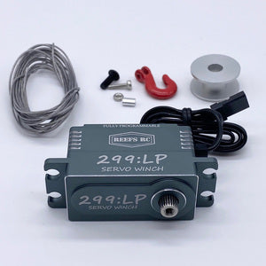 299 Low Profile Servo Winch w/ Built in Controller  (SEHREEFS59)
