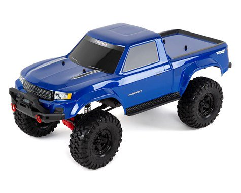 Traxxas TRX-4 Sport 1/10 Scale Trail Rock Crawler (Blue)  (TRA82024-4)