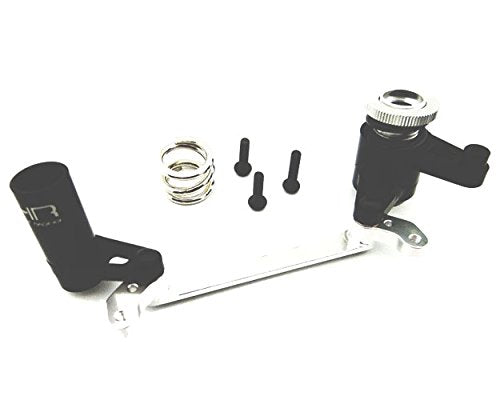 Hot Racing  Adjustable Aluminum Steering Bell Crank & Servo Saver (YEX4801)