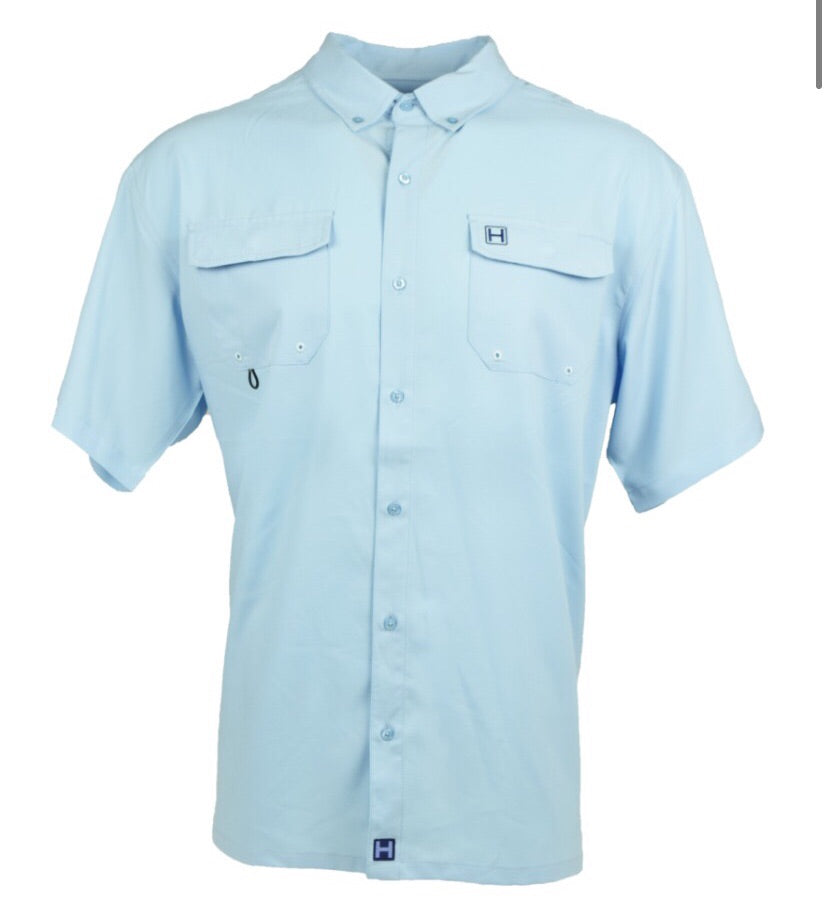 Heybo Boca Grande Short Sleeve Fishing Shirt
