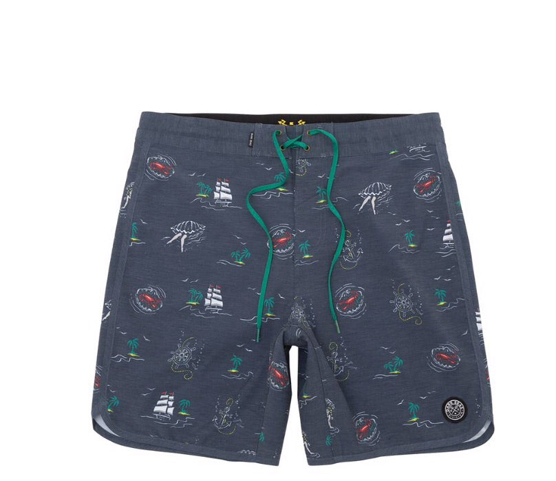Dark Seas South Hold Boardshort
