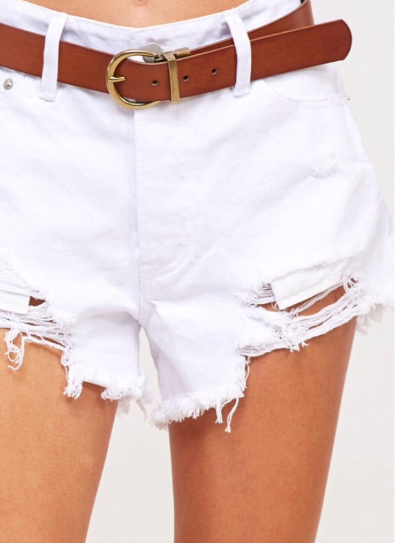 True White Shorts*