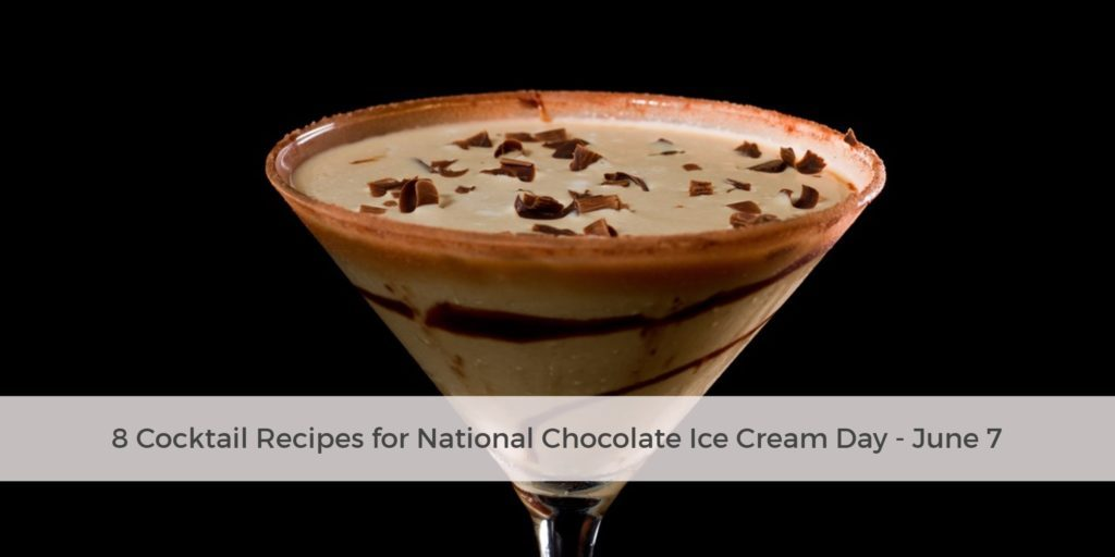 Celebrate National Chocolate Ice Cream Day With These Decadent Cocktail Recipes