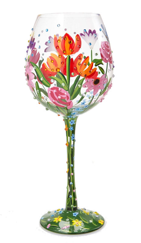 Spring Bling Super Bling Wine Glass