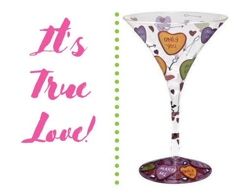 True Love Lolita Martini Glass
